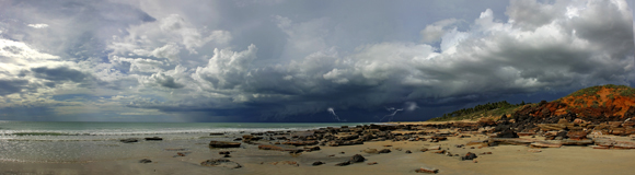 0419 - Cable Beach Storm, Broome, W.A.