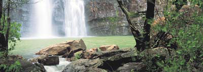 0560 - Kimberley Waterfall, W.A.