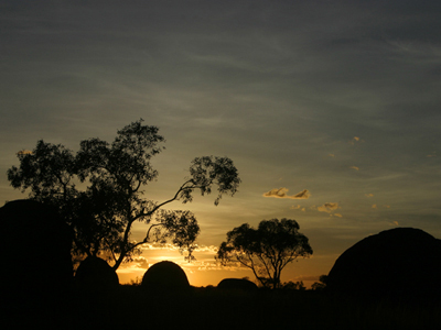 0490 - Sunset at Devils Marbles, N.T.