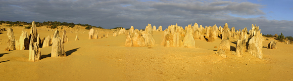 0484 - Pinnacle Desert, Nambung National Park,W.A.