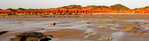 0088 - Reddell Cliffs, Broome, W.A.