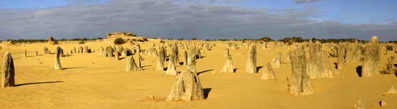 0488 - Pinnacle Desert, Nambung National Park,W.A.