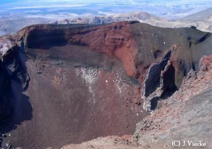 Red Crater - Tongariro - Neuseeland Nordinsel